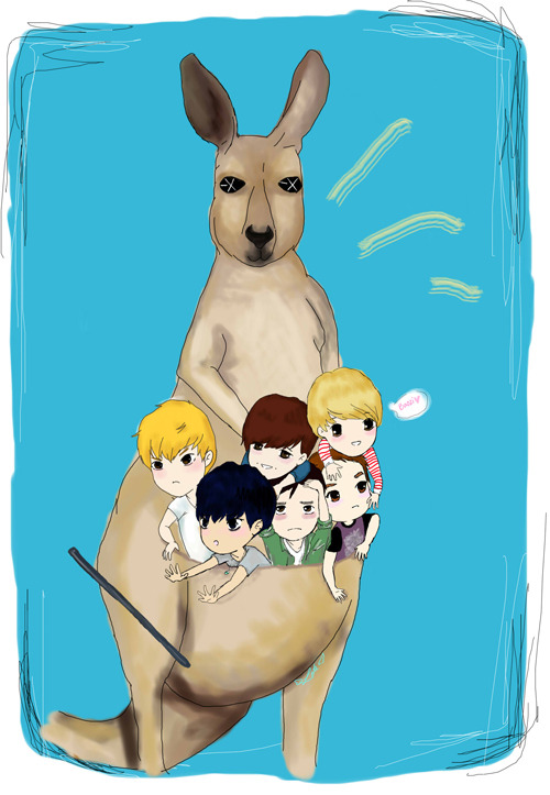 <br /><br /><br /><br /><br /><br /><br /><br /><br /> So this is dedicated to my new friend that I met through Omegle, Ariel~ And also to all the Aussies who were hoping to see EXO M at SS4 but were unable to due to the cancellation. ;o; I haven't colored/drawn anything on my tablet in like 5+ years so excuse the shittiness of this.<br /><br /><br /><br /><br /><br /><br /><br /><br />