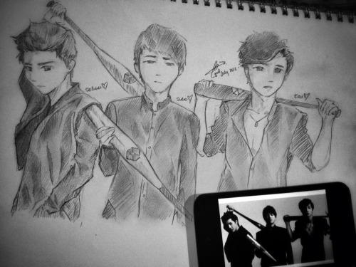 g-riluv:</p><br /><br /><br /><br /><br /><br /><br /><br /> <p>Sehun, Suho and Kai (gangsta~ style)<br /><br /><br /><br /><br /><br /><br /><br /><br /> (request from pauchii)<br /><br /><br /><br /><br /><br /><br /><br /><br /> I really enjoyed drawing this for the whole day, today :D!just found out my Chemistry teacher knows EXO while drawing this during her class O_O<br /><br /><br /><br /><br /><br /><br /><br /><br />