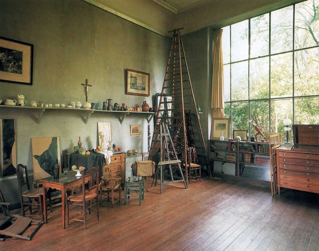 Paul Cézanne's studio in Aix-en-Provence
