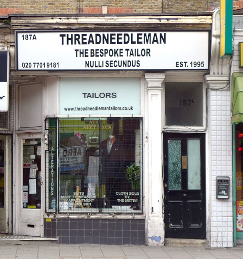 Threadneedle Man, Walworth Road SE17