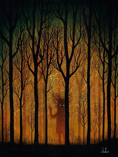 artchipel:  Andy Kehoe – A Fading Farewell. Oil on Wood Panel,…