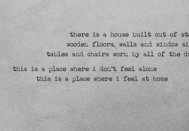 To Build A Home Lyrics
