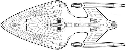Starfleet ships • Prometheus-class schematic