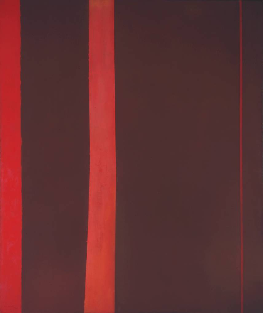 Cave To Canvas Barnett Newman Adam 1951 52 From The Tate