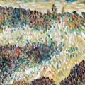 Draw paint print fritz bleyl dnenlandschaft watercolour and