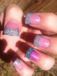 bling nails on Tumblr