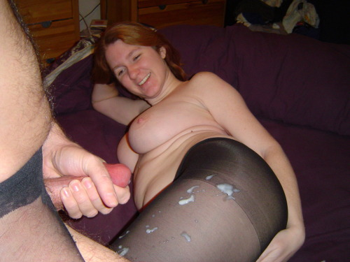 Sperm On Pantyhose