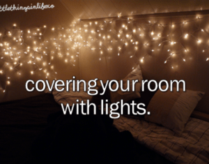 Christmas Lights In Bedroom Tumblr