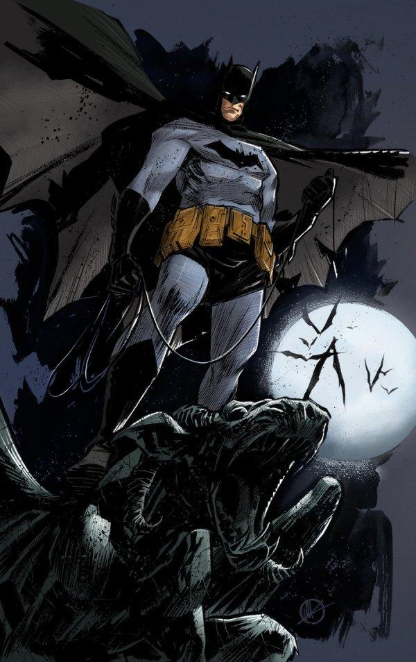 Batman Dark Knight Comic Art