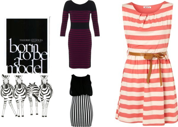 Striped Dress by natz-the-rebel featuring summer dresses
