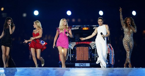 SPICE GIRLS OLYMPICS