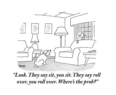 newyorker: Cartoon of the day by Jack Ziegler. For more cartoons:http://www.newyorker.com/cartoons
