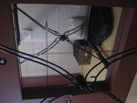 Hotel OK Puerto Rico ceiling mirror
