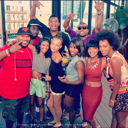 EVERYDAY PEOPLE BRUNCH 8/18/12<br /><br /> BUN B!