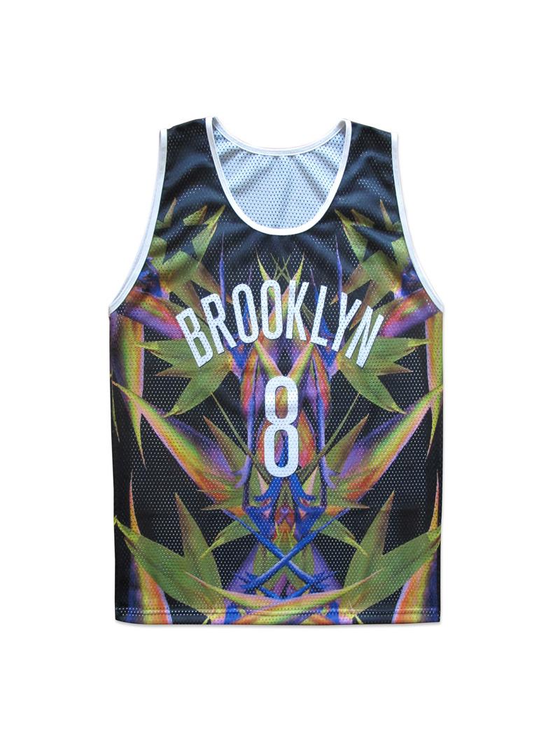 *Wil Fry的主場球衣:布魯克林天堂鳥隊 2