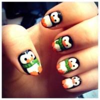Pin Nail Art Penguins Penguin Nails Winter on Pinterest