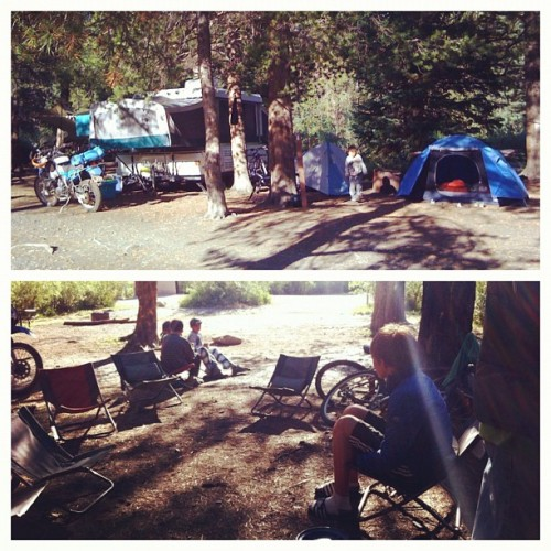 hanging in camp, camp out, colorado, instagram camp