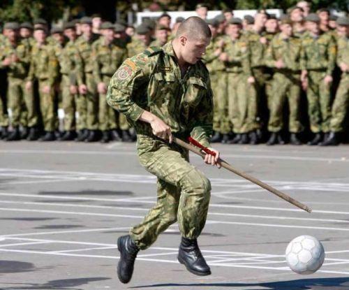 Servicio militar futbolistas