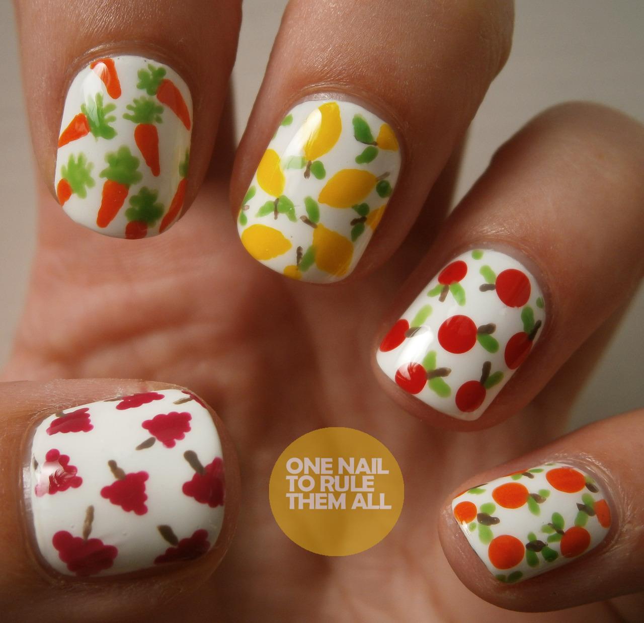 Pin Cute Girls Summer Nail Art Design Ajilbabcom Portal on