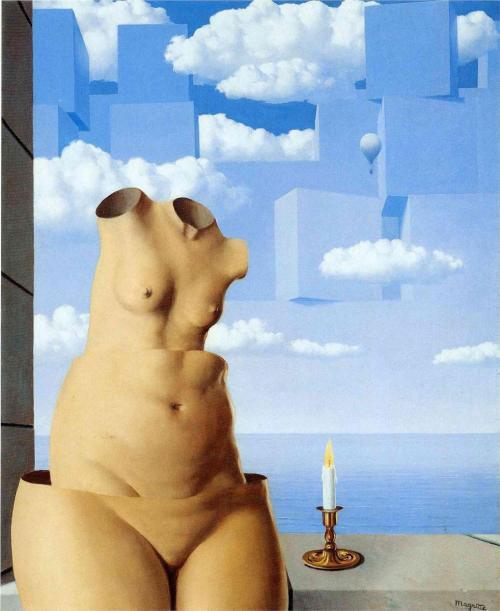 Rene Magritte - Delusions of grandeur 1948 HD