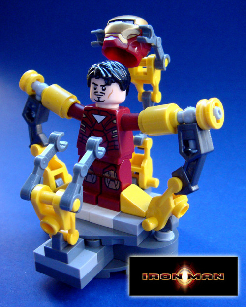 herochan:  Iron Man Created byBrandon Griffith (via:itlego)
