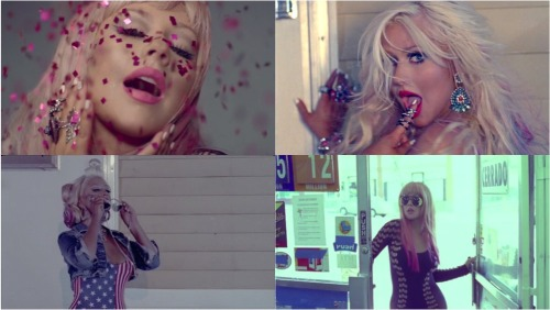 CHRISTINA AGUILERA YOUR BODY MUSIC VIDEO