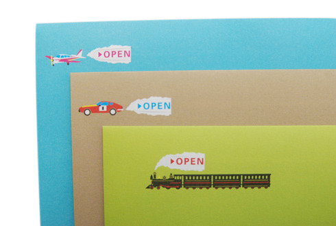 開けるときに驚きと楽しみがある封筒