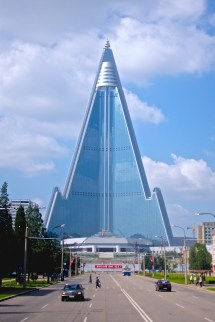 Skyscrapers Ryugyong Hotel In Pyongyang North Korea