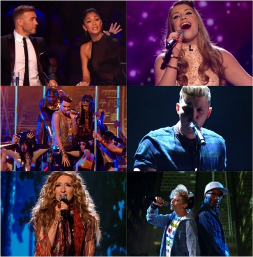 UK X FACTOR 2012 LIVE SHOWS WEEK 1