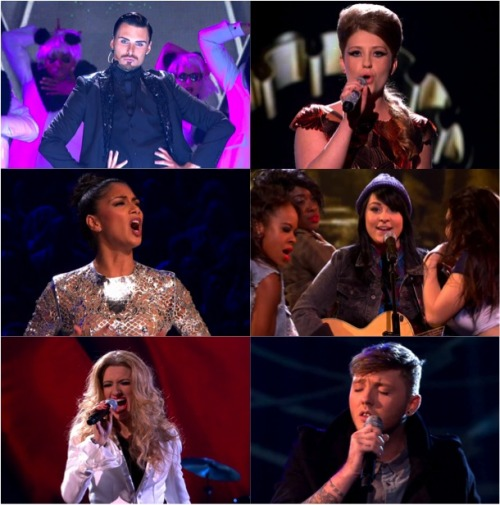 X FACTOR 2012 LIVE SHOWS WEEK 2
