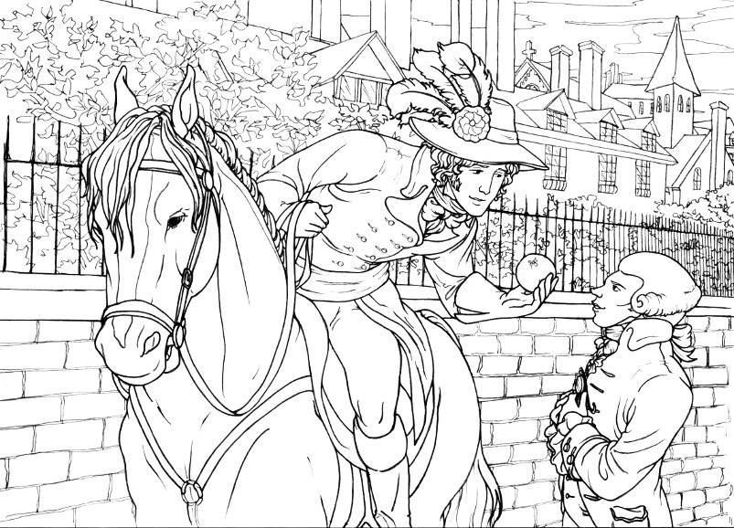 french revolution thp coloring pages robespierre d art