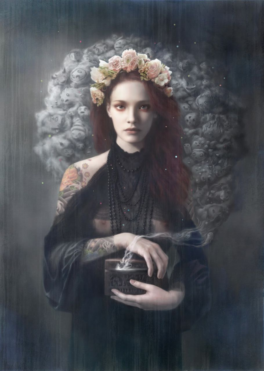 Pandora by Tom Bagshaw
