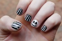 The Nightmare Before Christmas Nails! :) Recreated ...