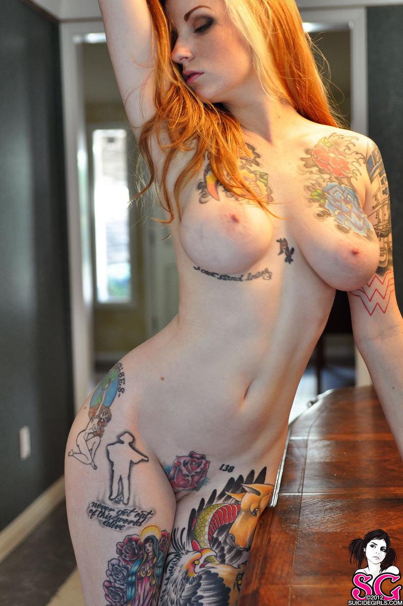 tattoo naked tumblr