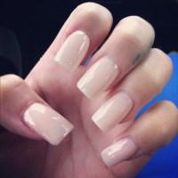 square nails on Tumblr