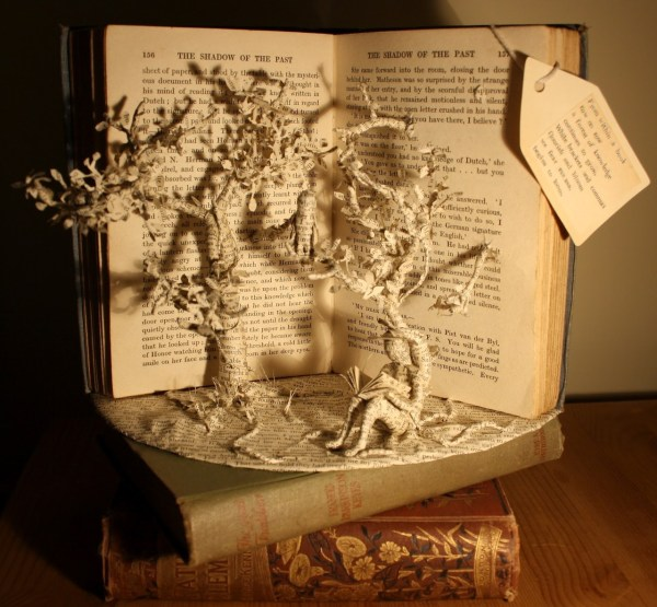 Tumblr Book Sculpture