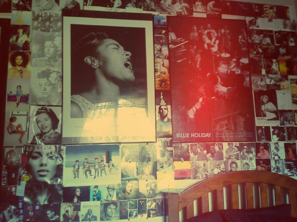 my music wall.
