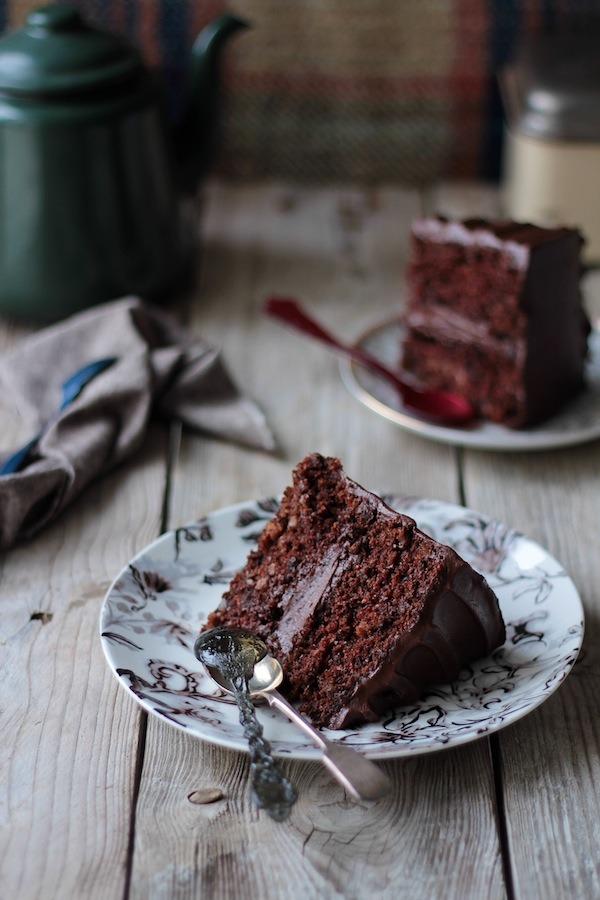 kiyoaki:(vía Food and Cook by trotamundos» Chocolate carrot cake (Tarta de zanahorias de chocolate))