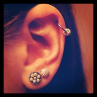 cartilage earrings | Tumblr