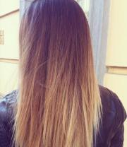 pretty ombre dip dye dyed hair