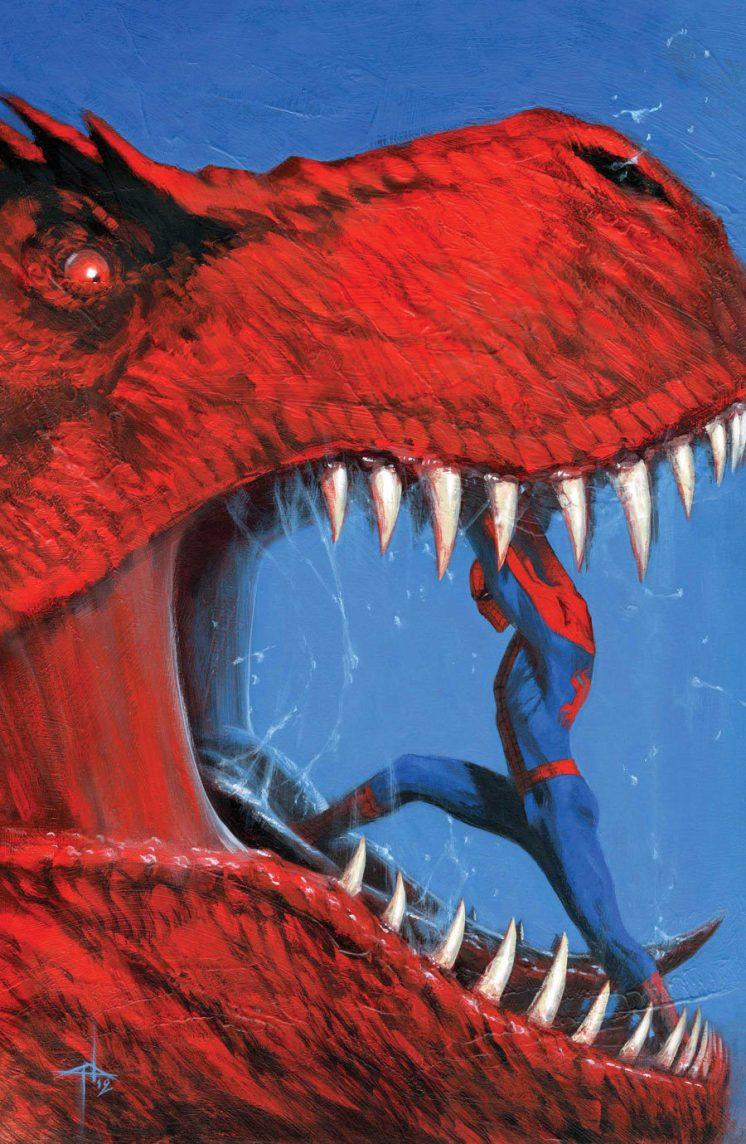 Spider-Man by Gabriele Dell'Otto.