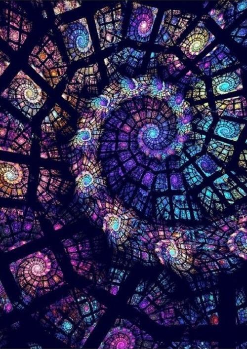 Trippy Wallpaper Iphone X Psychedelic Purple 1 Math Mandala Spiral Vufus