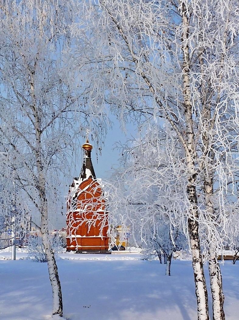 Piękna zima na wschodzie