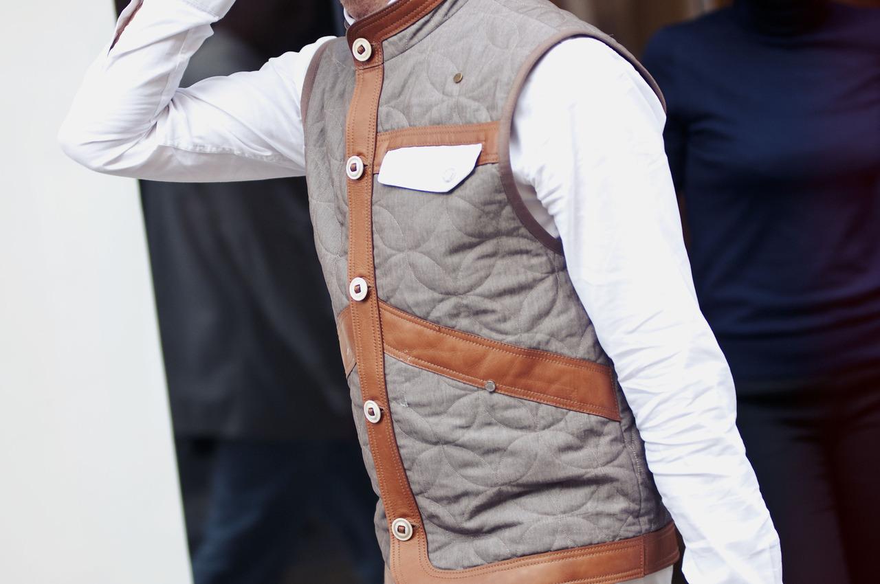 The not so common vest.