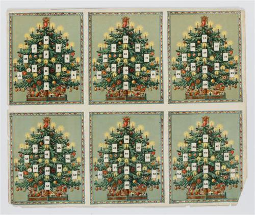 Image du 1er Décembre du calendrier de l'avent du Grand Palais / Tumblr
