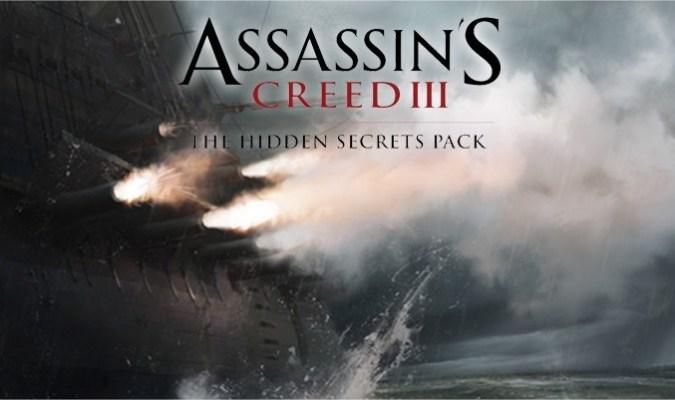 Assassin's Creed III Hidden Secrets Pack Live Now 1