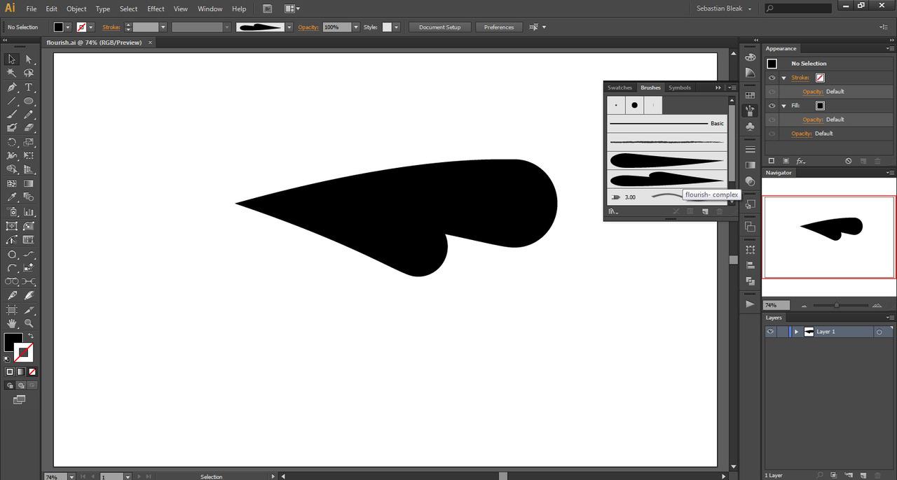 Custom Art Brushes for Adobe Illustrator