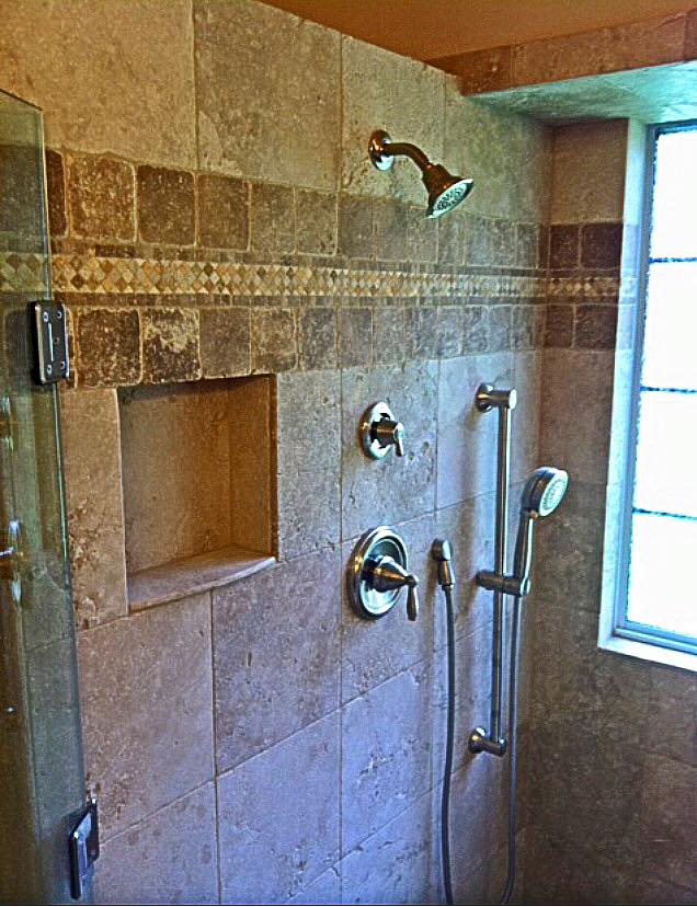 Bathroom Remodel with ADA Compliant Shower  Remodeling
