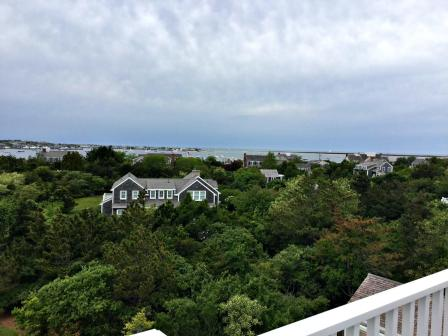 View from A Nantucket Widow's Walk