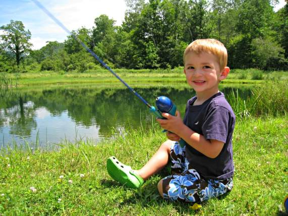 Vermont July 4th - Fishing Hole